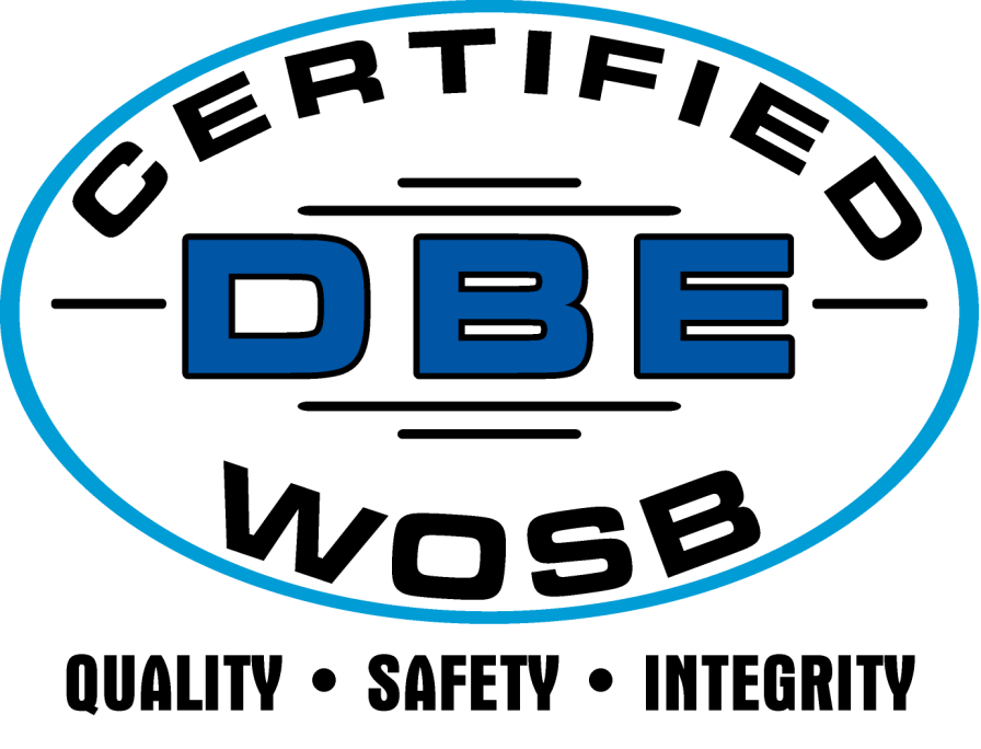 Surface prep Logo and DBE Oval
